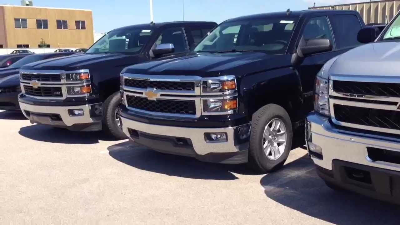 2014 Chevrolet Z71 Silverado vs 2013 Z71 2500 HD