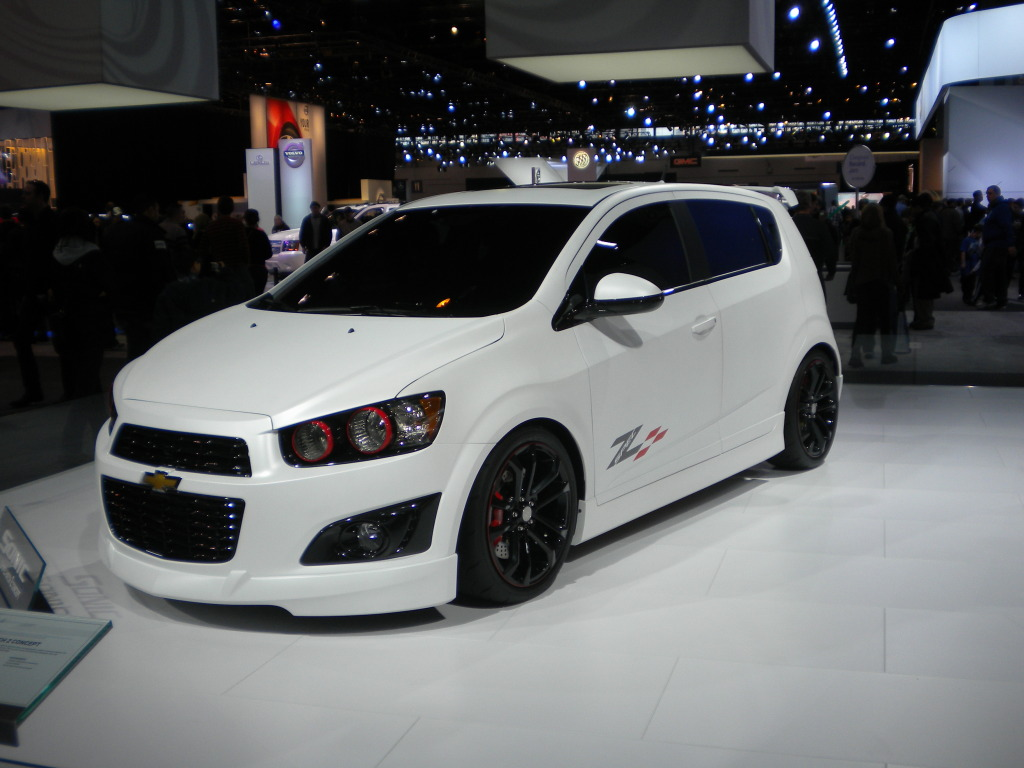 Chevrolet Sonic Hatchback Modified