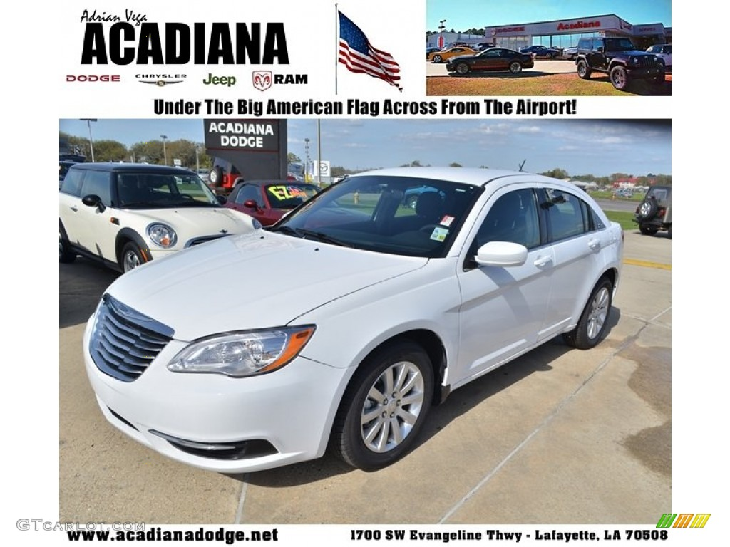 Chrysler 200 2012 White