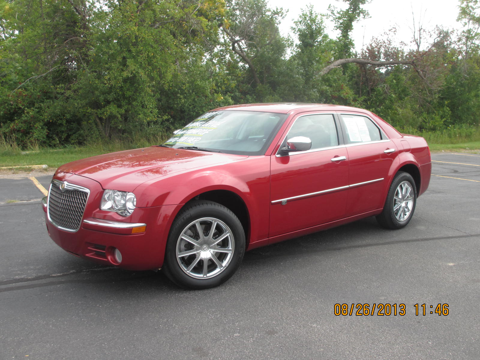 Chrysler 300 2014 Red