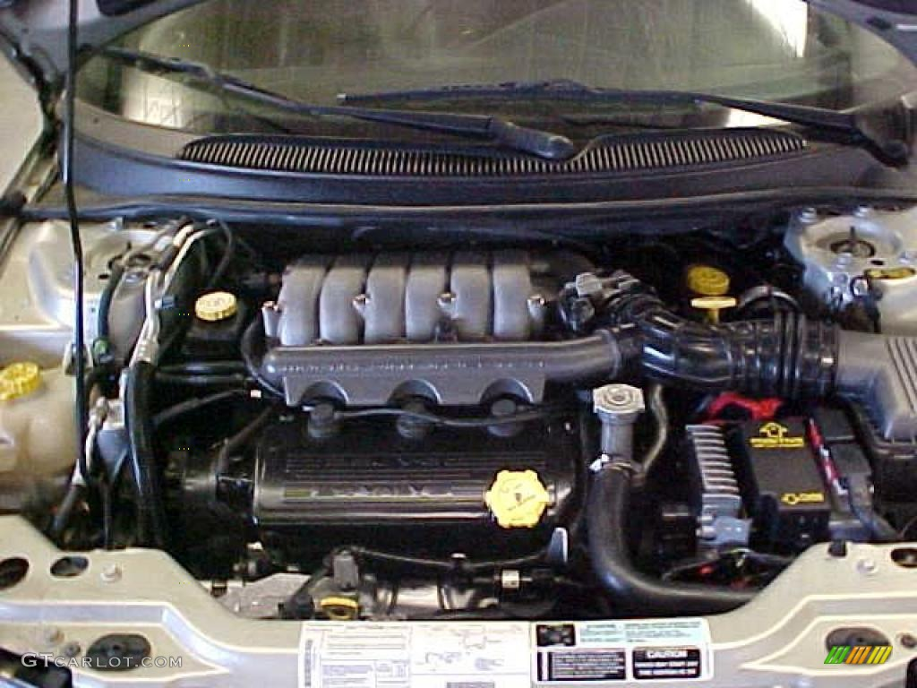 2000 Chrysler Cirrus LXi 2.5 Liter SOHC 24-Valve V6 Engine Photo #39324861