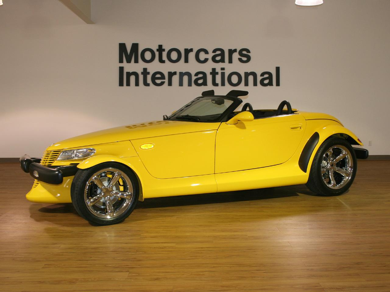 Chrysler Prowler Yellow