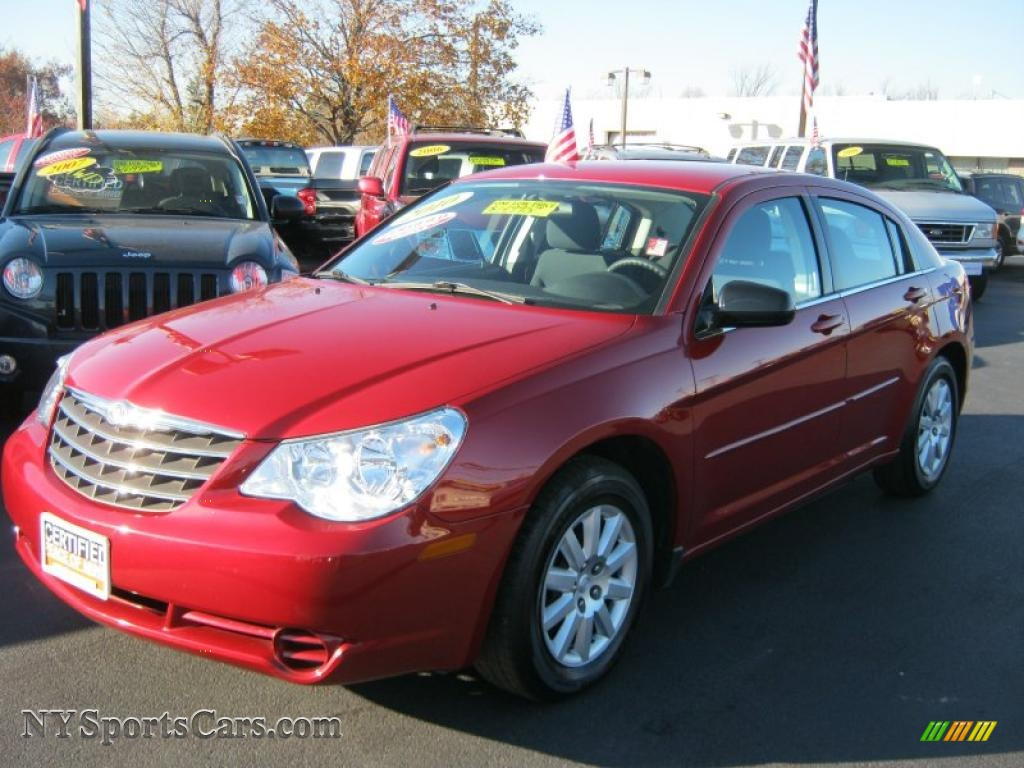 Chrysler Sebring 2010 Red