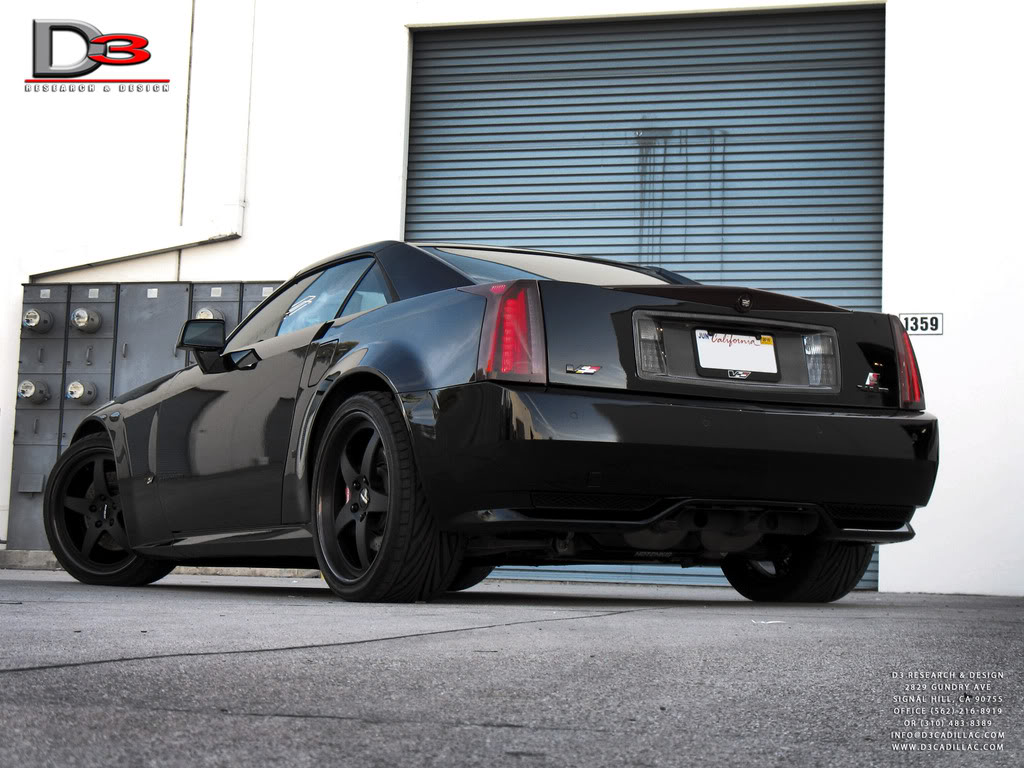 XLR-V Stage 2.5 by D3 Cadillac (Pictures)