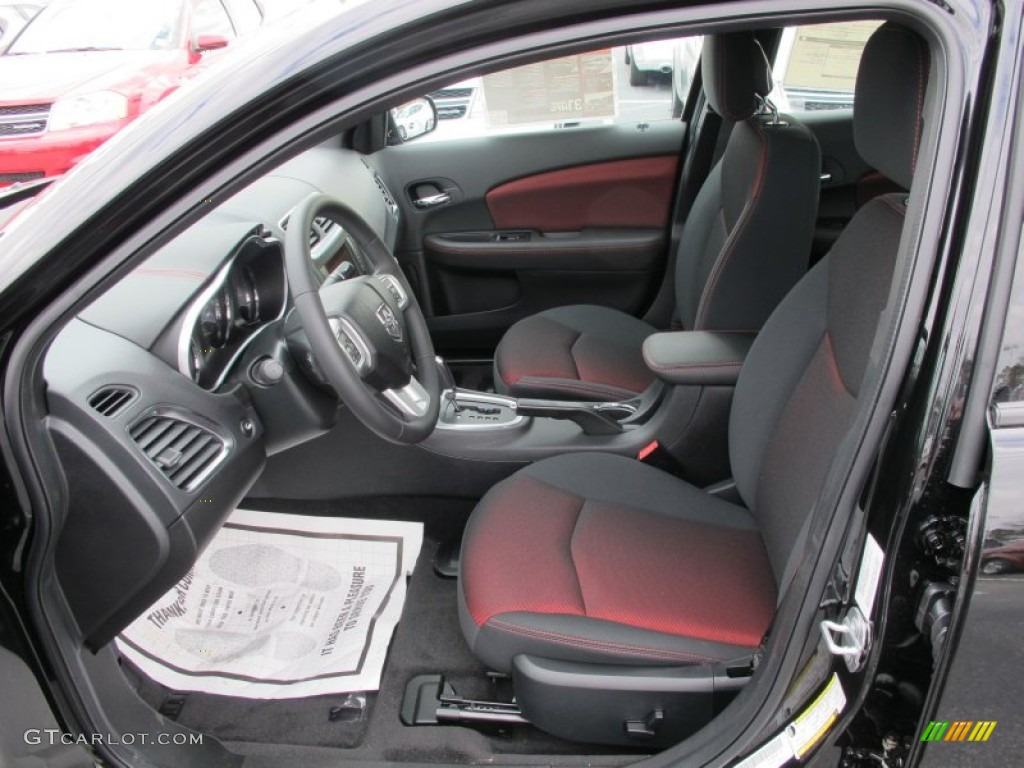 2012 Dodge Avenger SXT Plus interior Photo #60804173