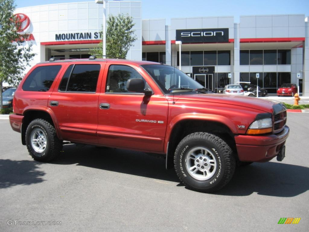 Dodge Durango 2000 Red