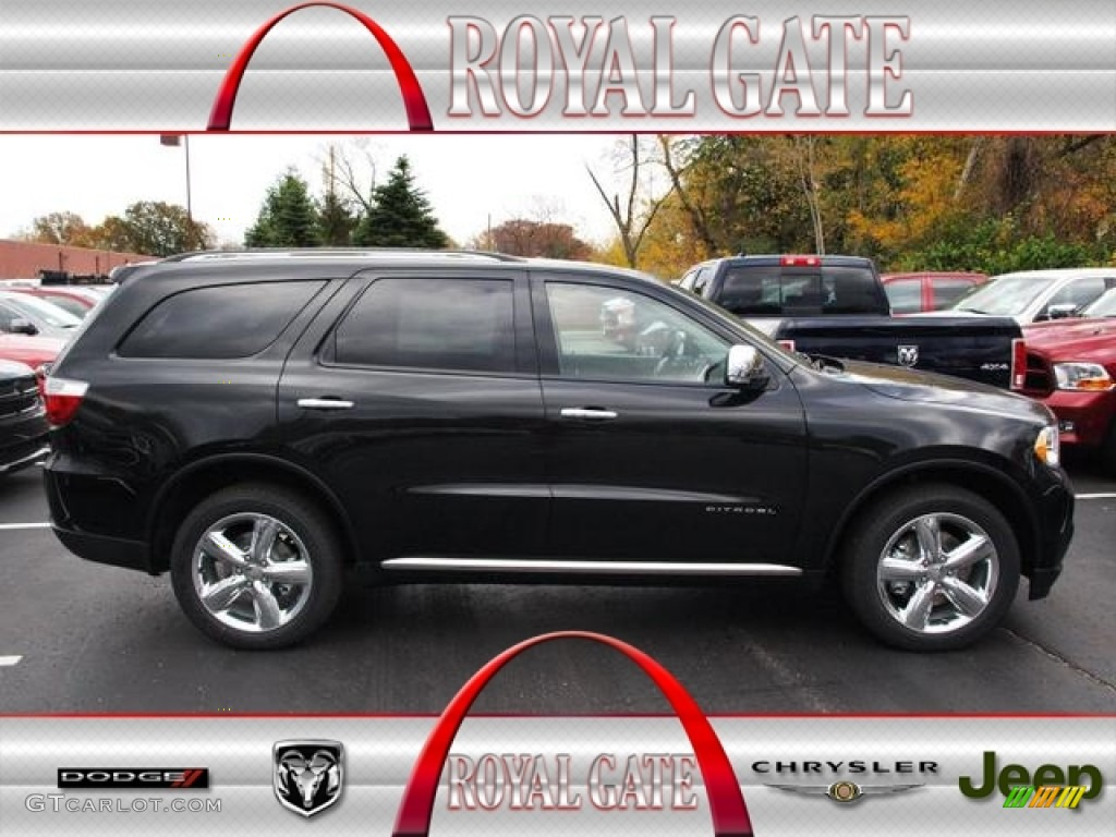 Dodge Durango 2013 Black