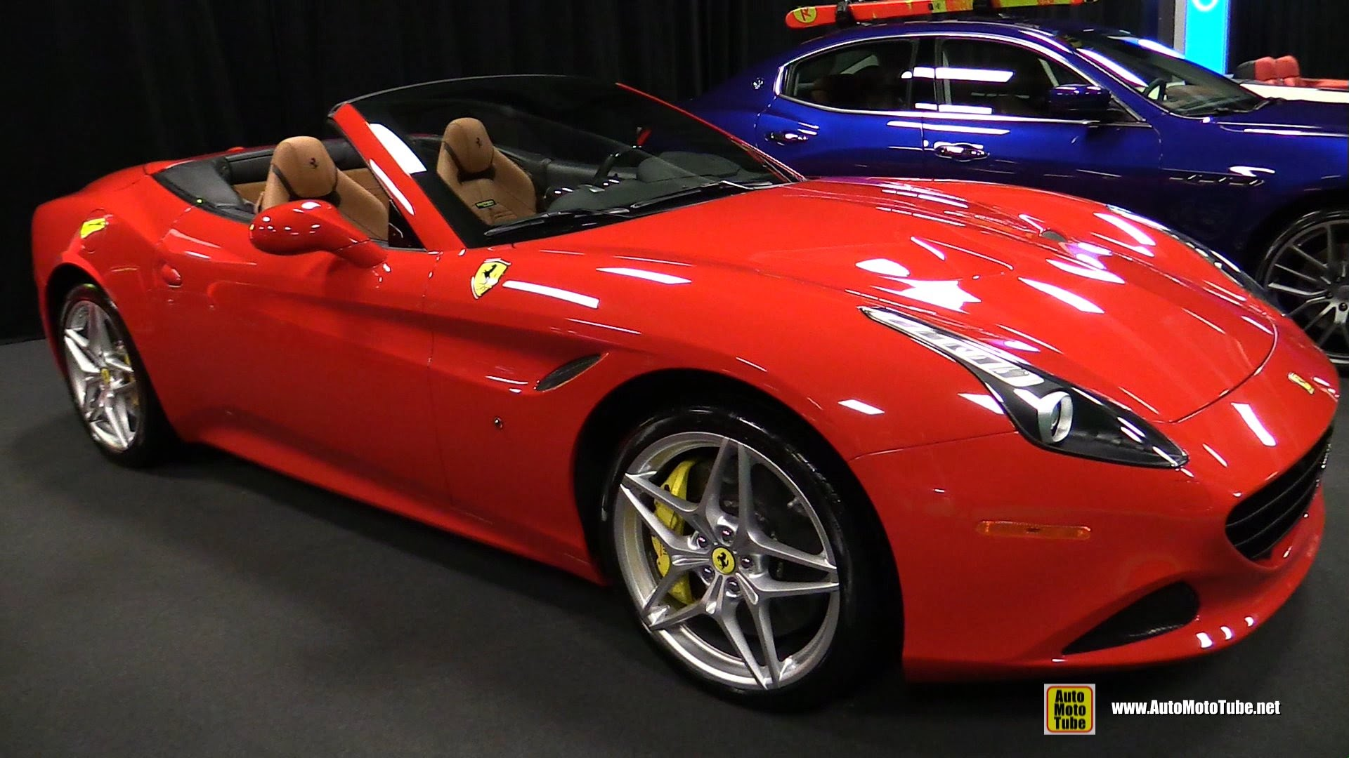 Ferrari California 2015 Red