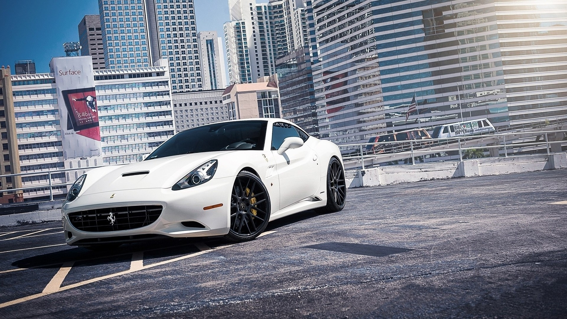 FERRARI CALIFORNIA WHITE WALLPAPER image gallery
