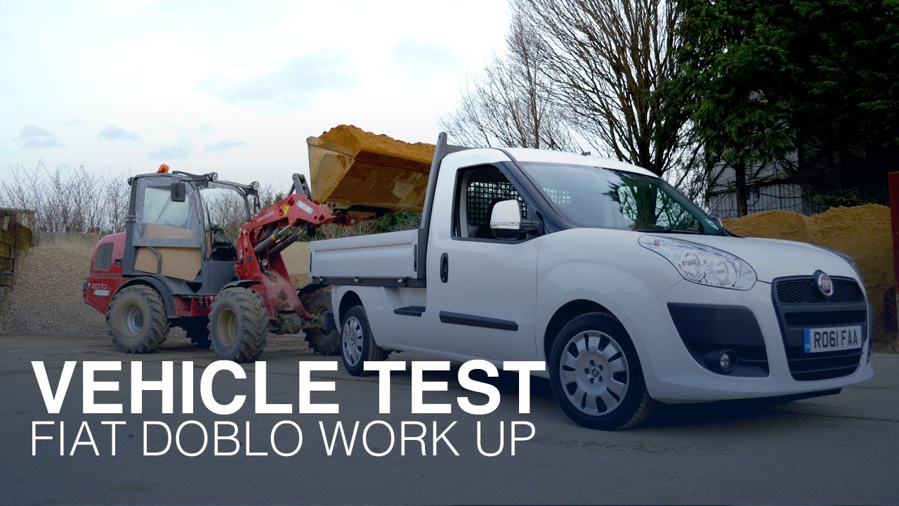 Van review - Fiat Doblo Work Up