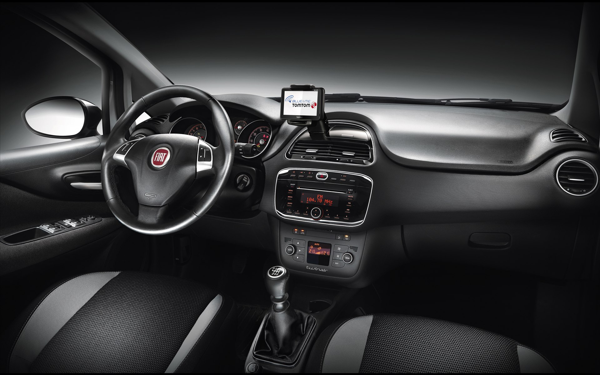 Fiat Punto Interior Wallpaper 1920x1200 10008