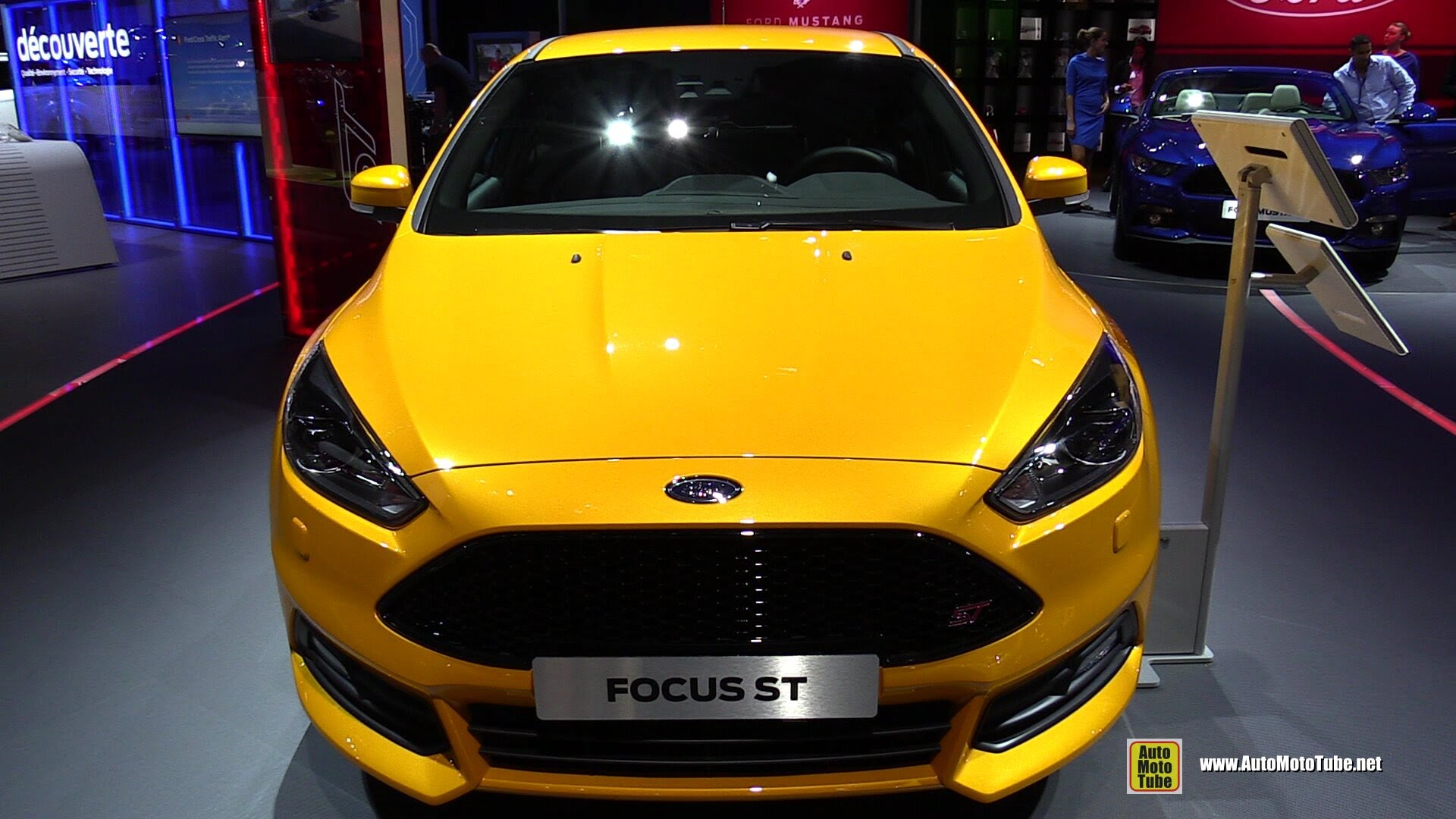 Ford Focus ST 2015 Interior
