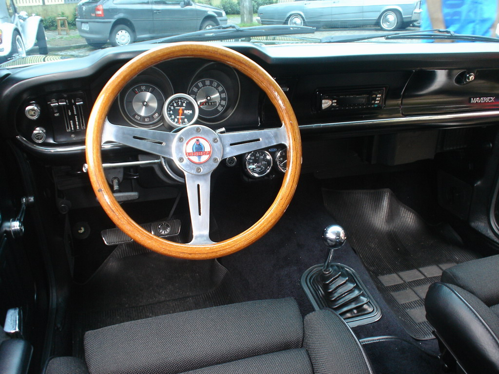 Ford Maverick Interior