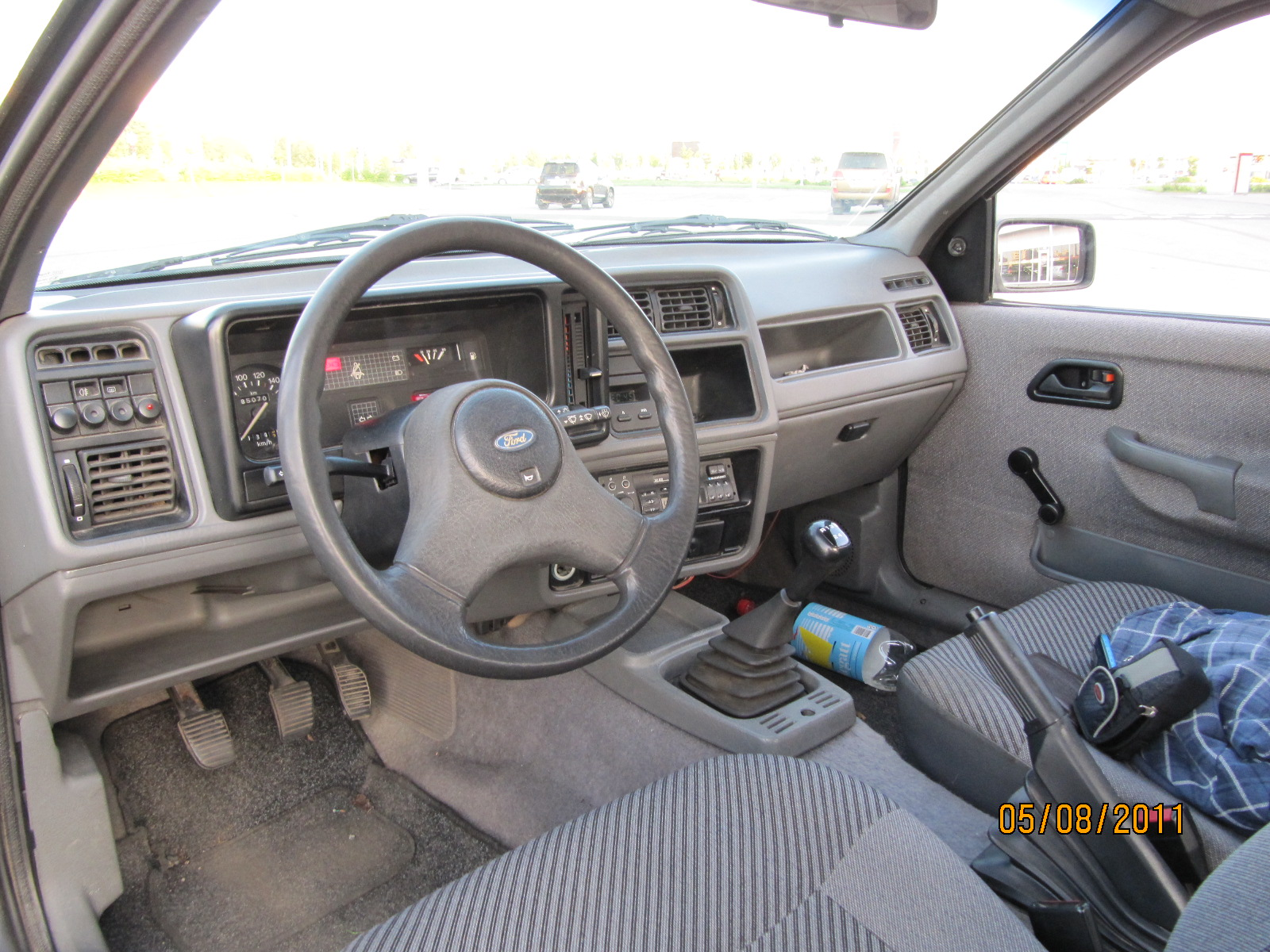 Ford Sierra Interior