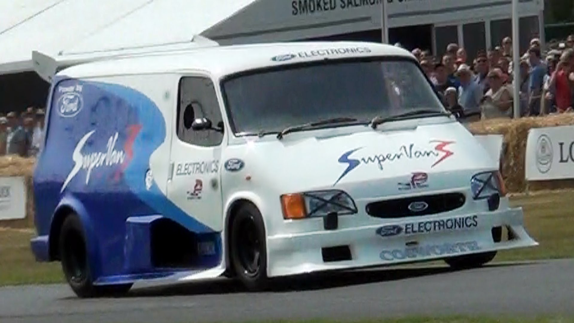 Ford Transit Supervan 3 AMAZING SOUND