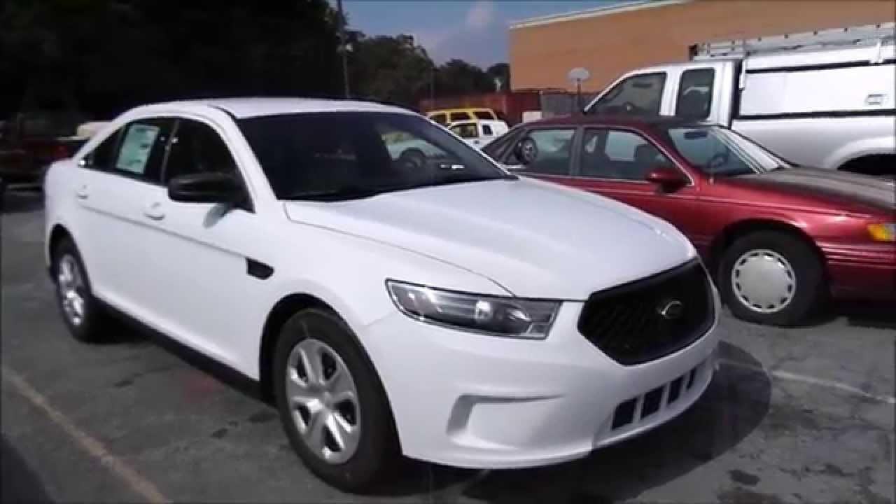 2015 Ford Taurus Police Interceptor 3.7L V6 Start Up, Tour, and Review