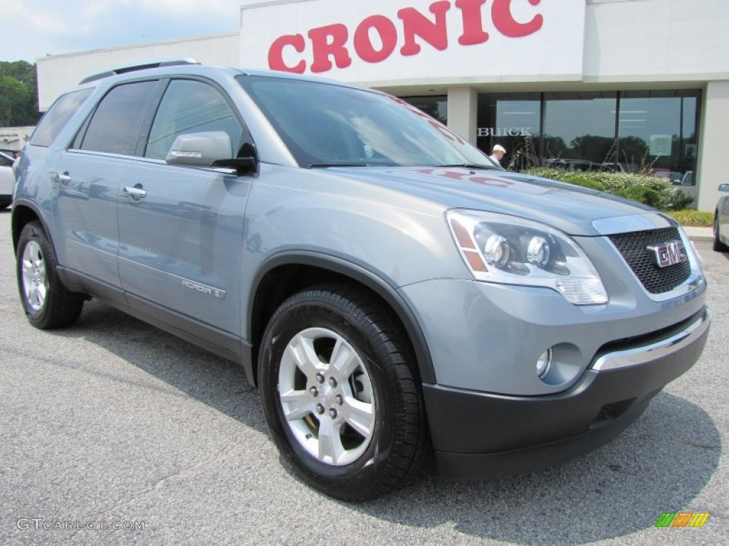 Blue-Gold Crystal Metallic GMC Acadia