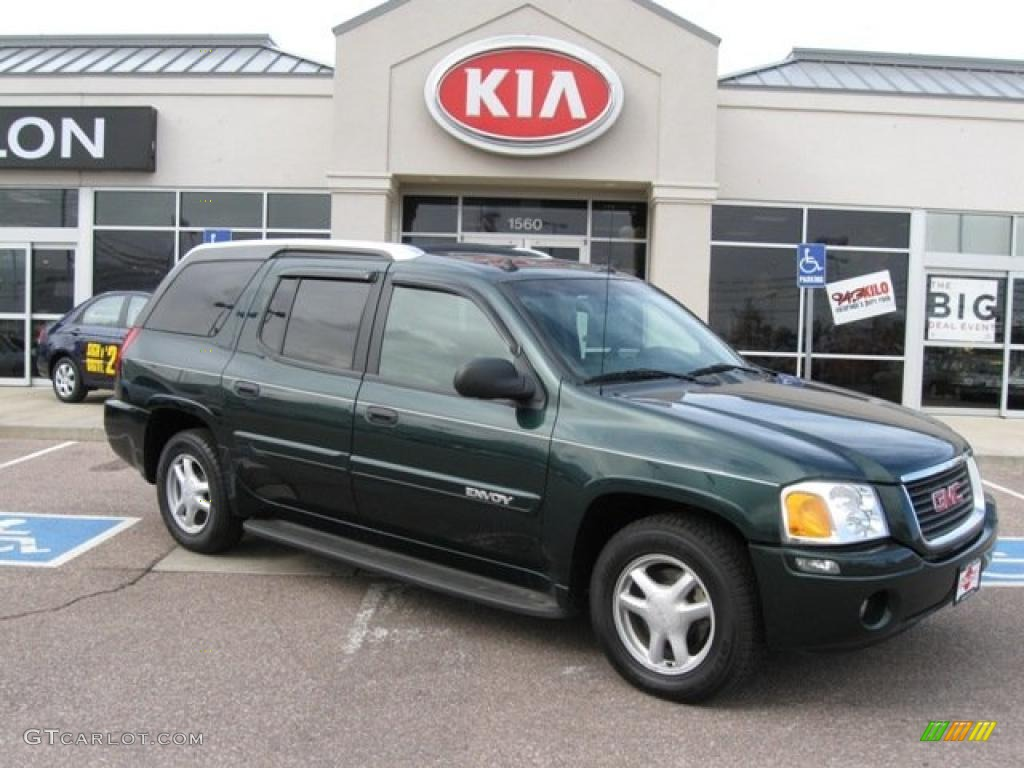 Gmc Envoy 2004 Green