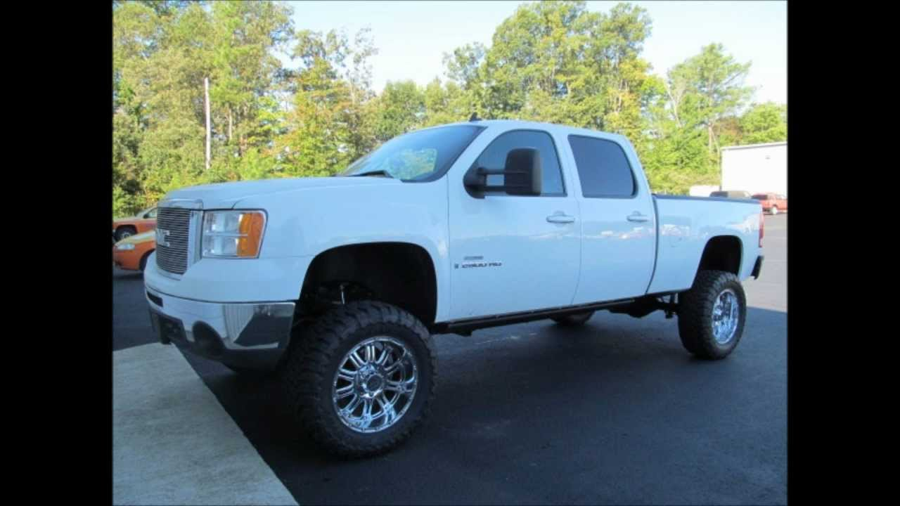 Gmc Sierra 2500HD Diesel Lifted