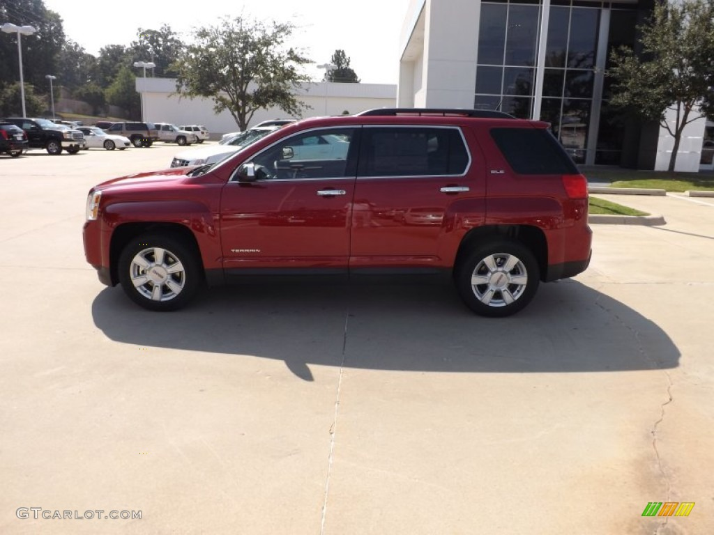 2013 GMC Terrain SLE - Crystal Red Tintcoat Color / Jet Black Interior