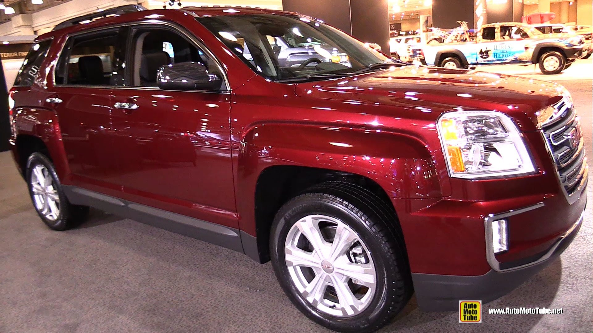 2016 GMC Terrain SLT - Exterior and Interior Walkaround - 2015 New York Auto Show