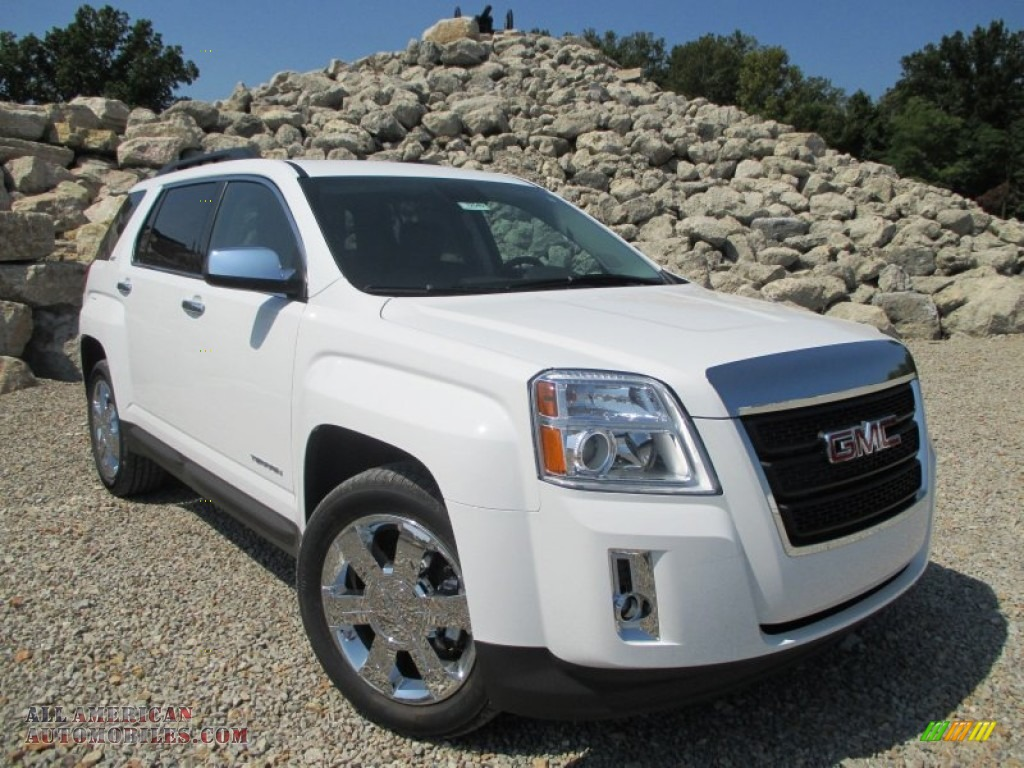 2015 Terrain SLT AWD - Summit White / Jet Black photo #1