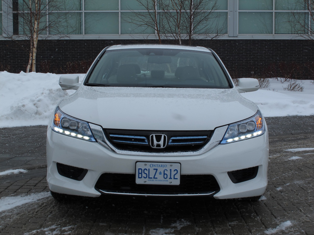Honda Accord Hybrid White