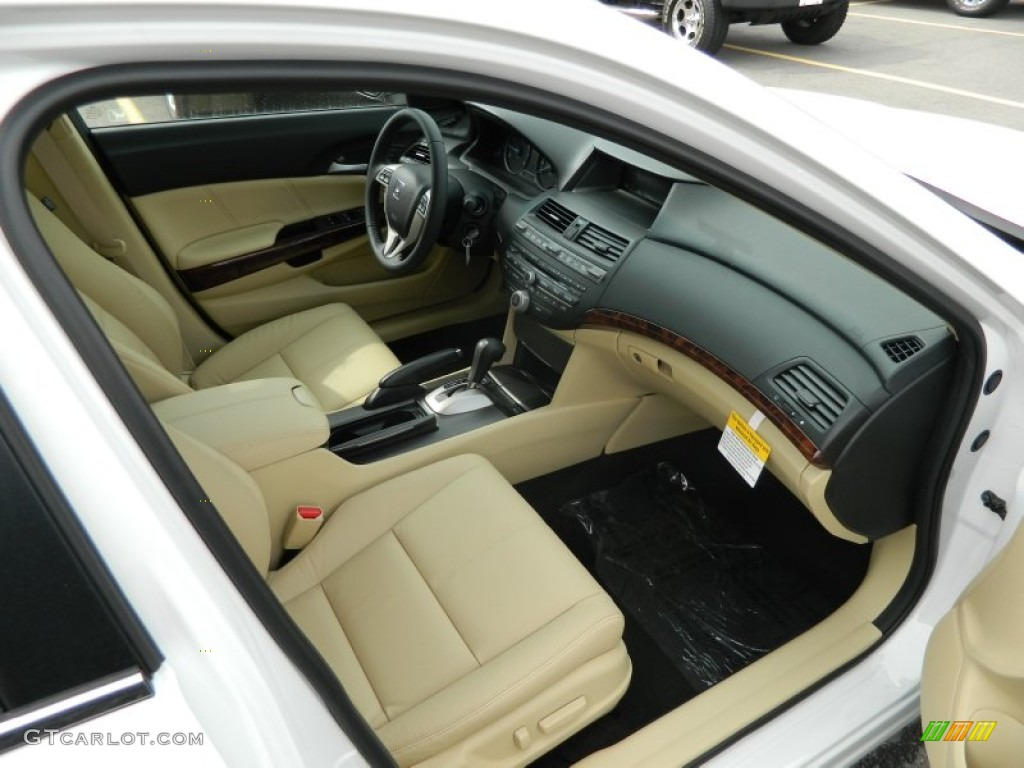 Ivory Interior 2012 Honda Accord Crosstour EX-L Photo #61394437