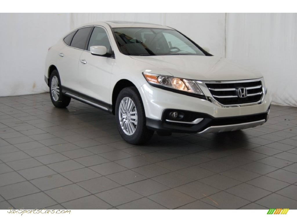 2015 Crosstour EX - White Diamond Pearl / Black photo #1