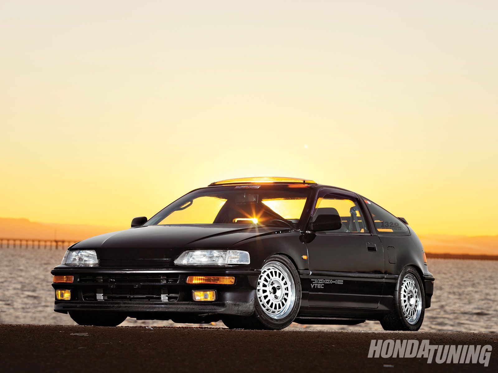 Photo 1 / 9 | 1990 Honda CRX Si JDM Frontend Conversion 01