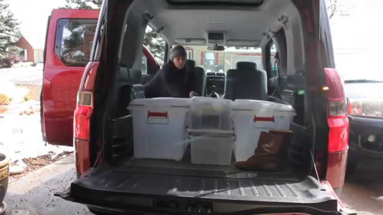 Honda Element Diy Camper