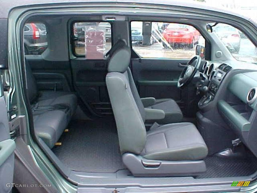 Honda Element Green Interior