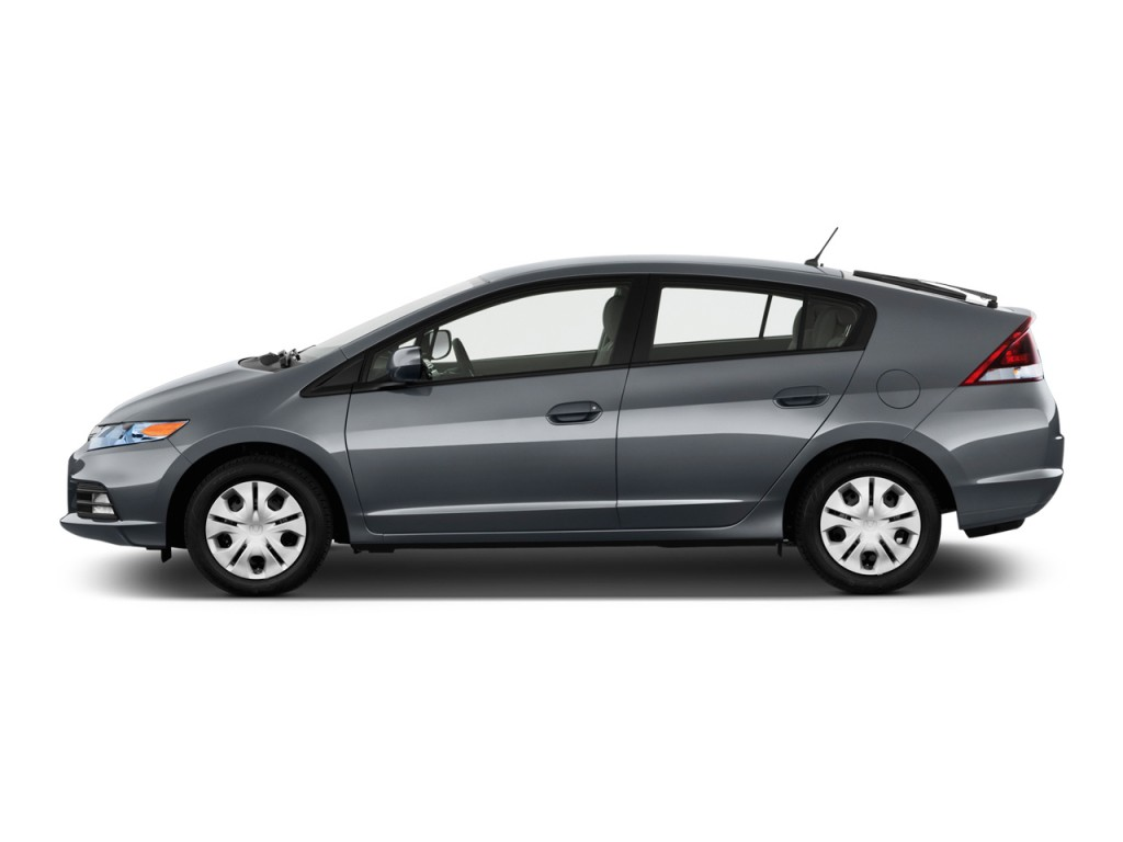 2012 Honda Insight 5dr CVT Side Exterior View