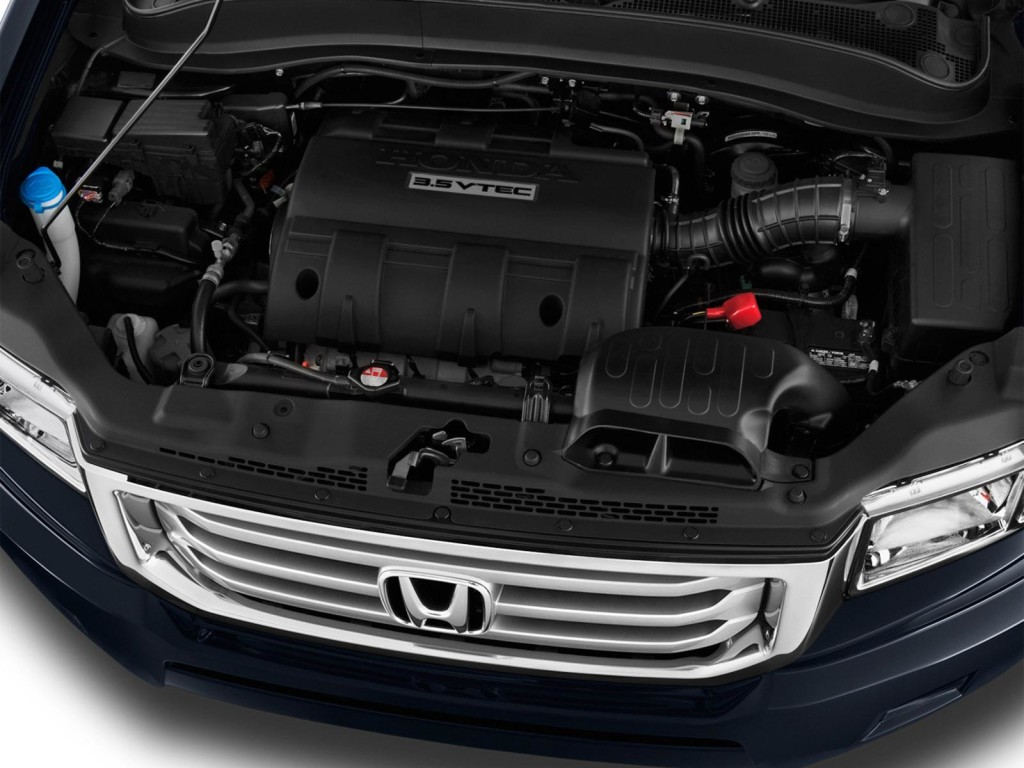 2016 Honda Ridgeline Engine