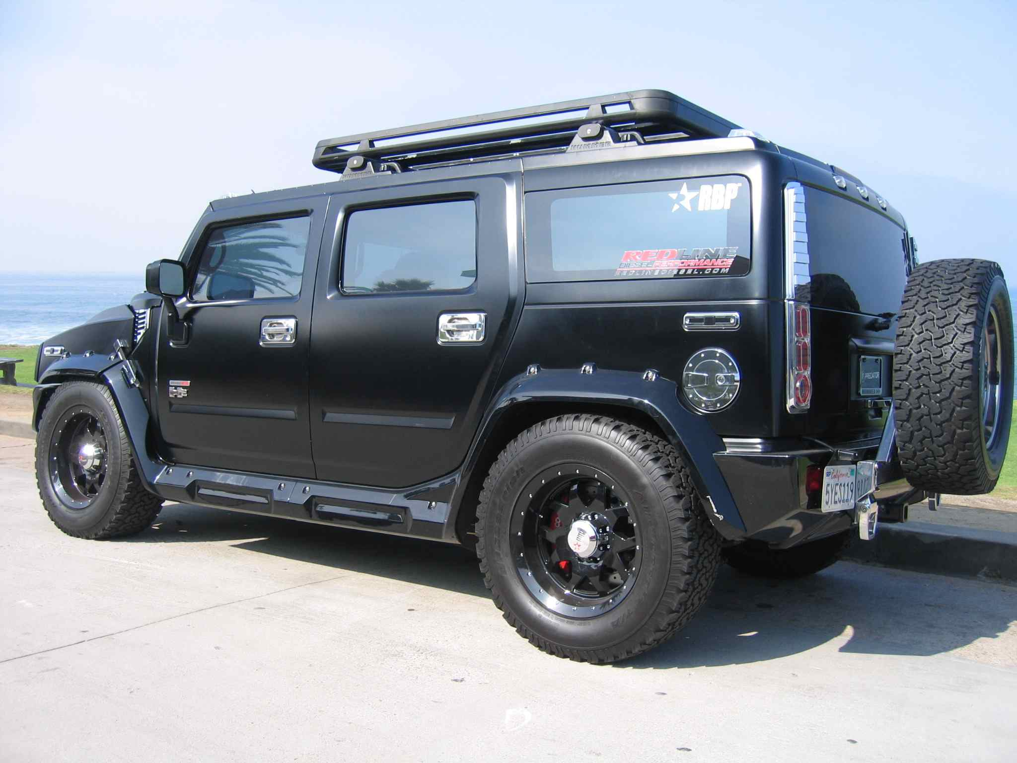 Hummer H1 Lowered