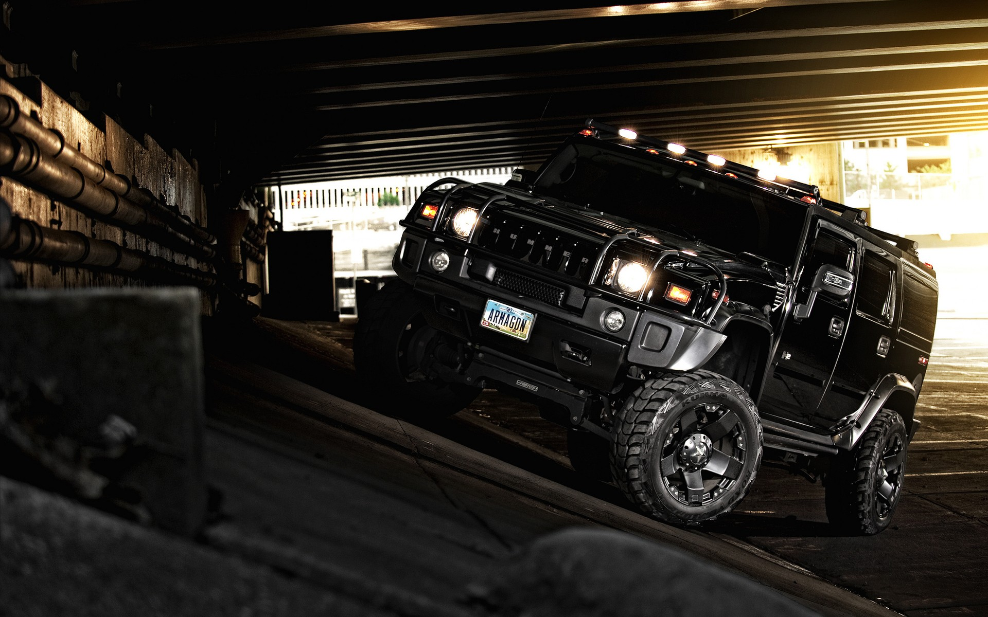 Hummer H2 Blacked Out