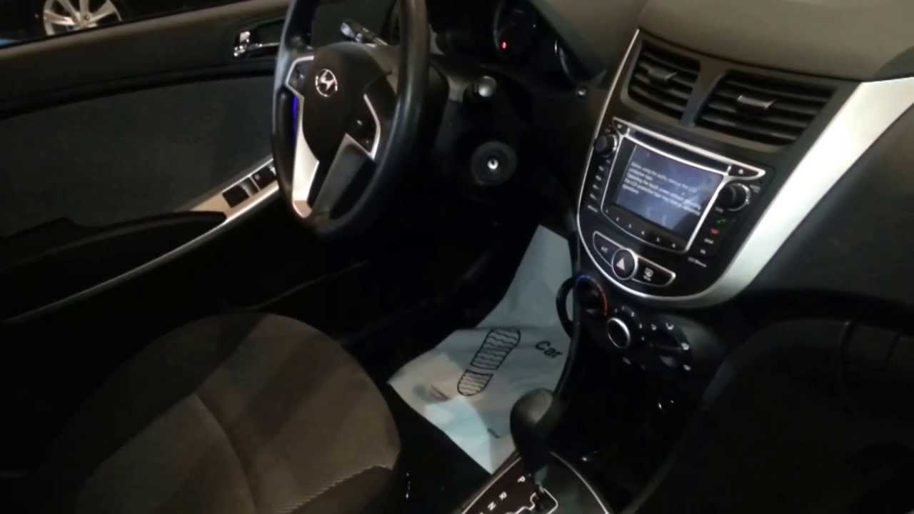 Hyundai Accent Hatchback Interior