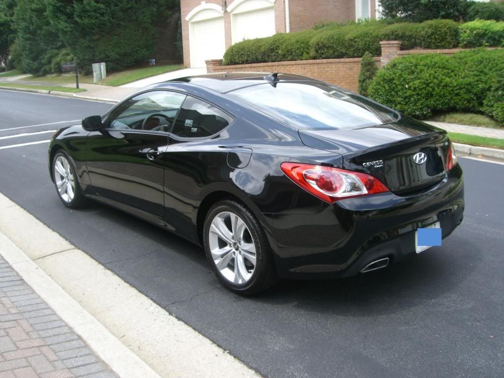 Hyundai Genesis Coupe Black 2014