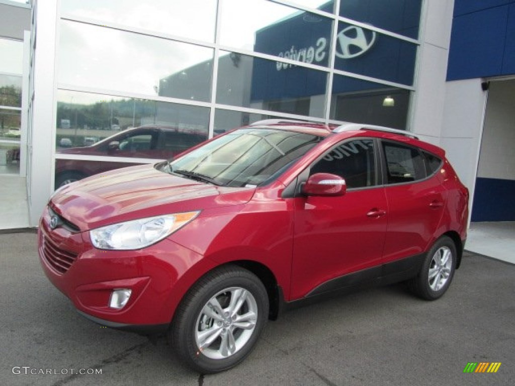 Hyundai Tucson 2013 Red