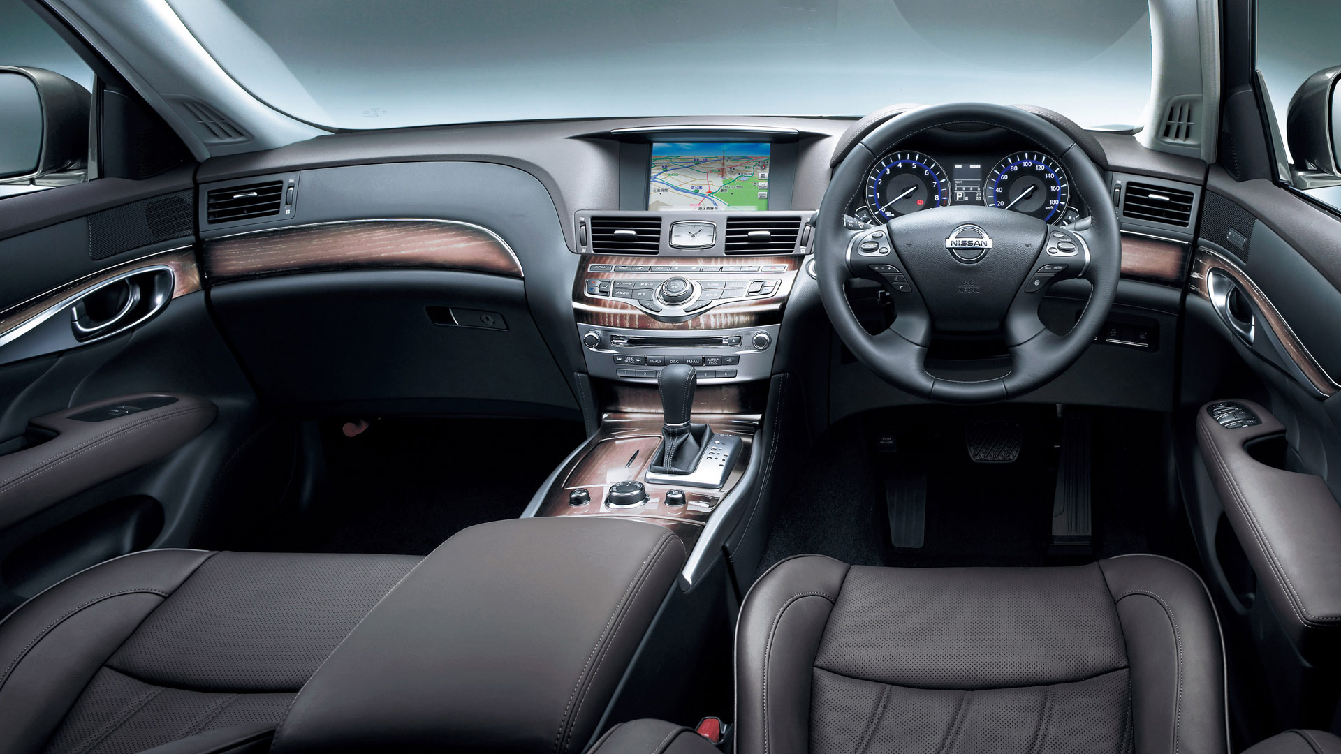 Nissan Fuga 350gt Infiniti M35 Interior Dashboard Wallpaper