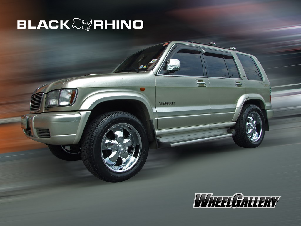 Isuzu Trooper 2014
