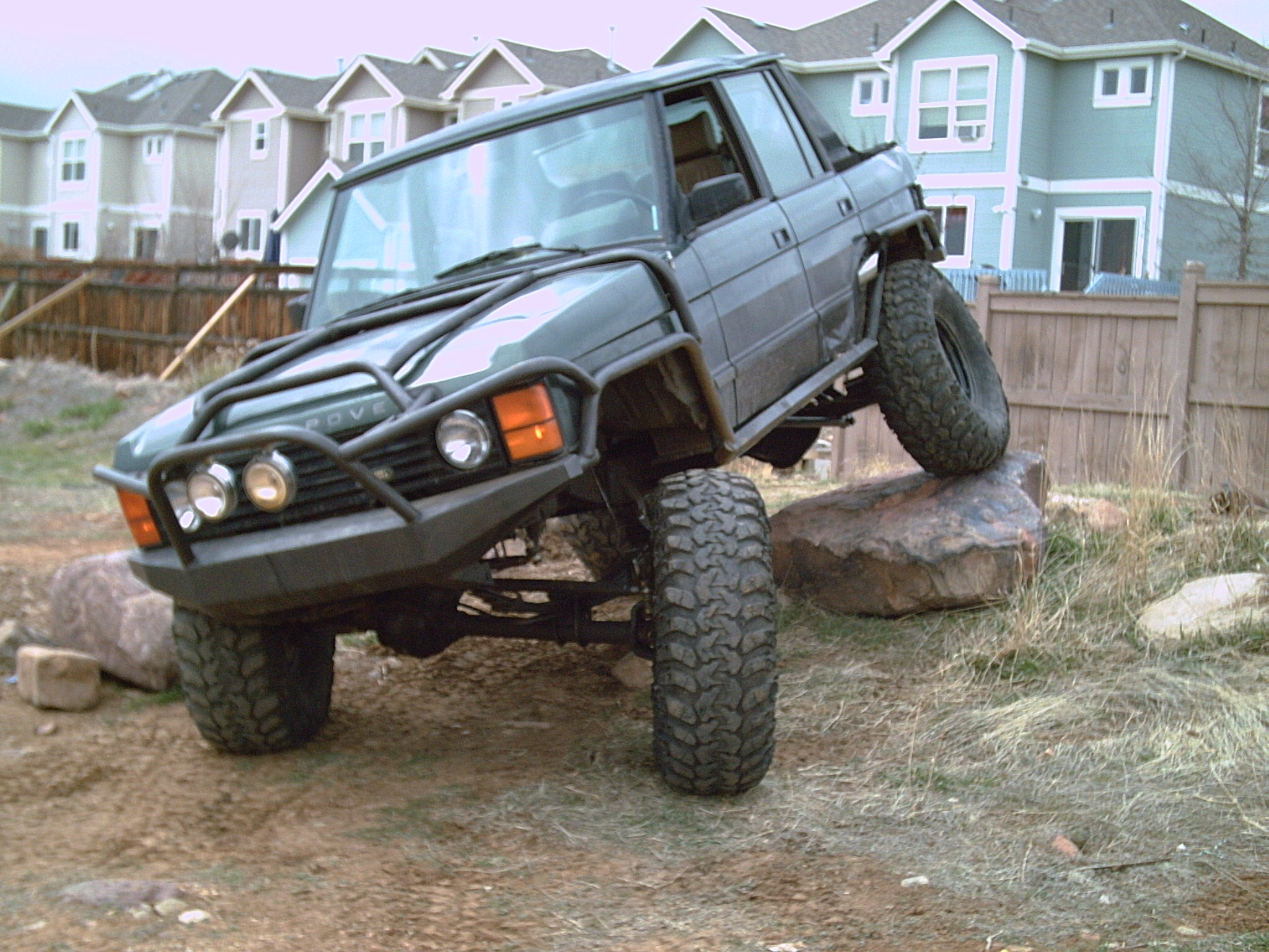 Isuzu Trooper Lifted