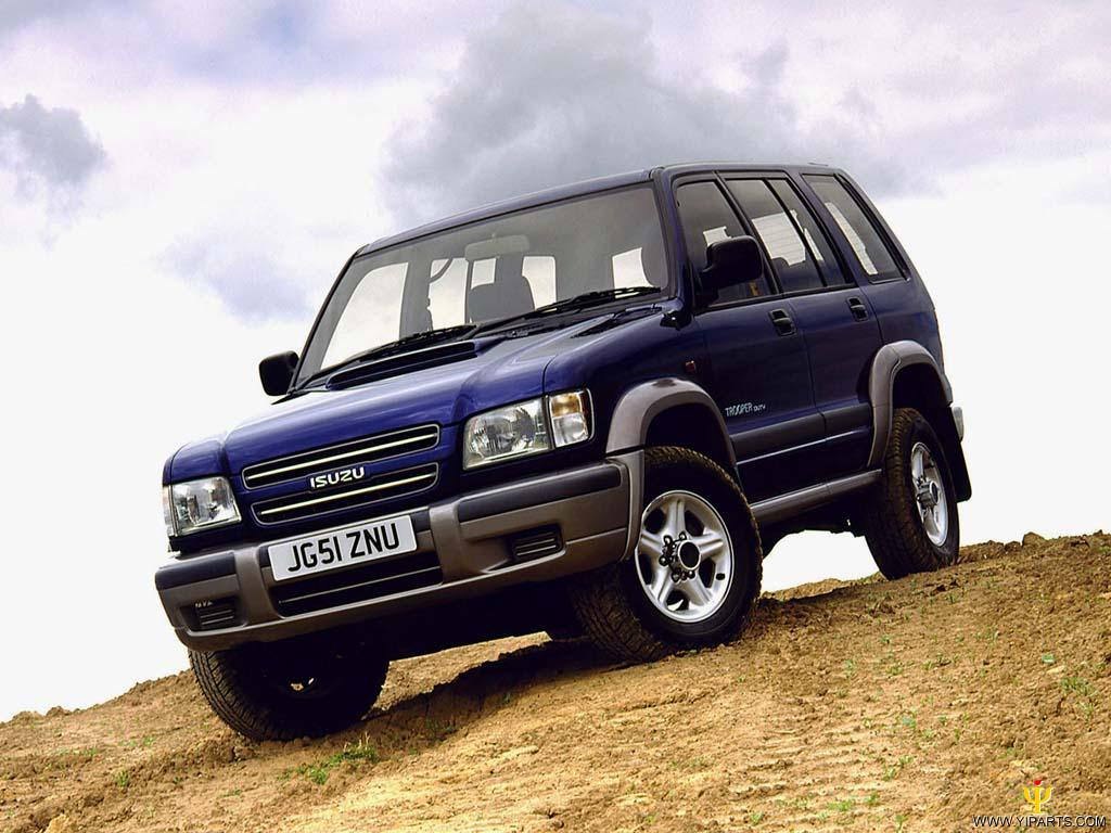 Isuzu Trooper Off Road