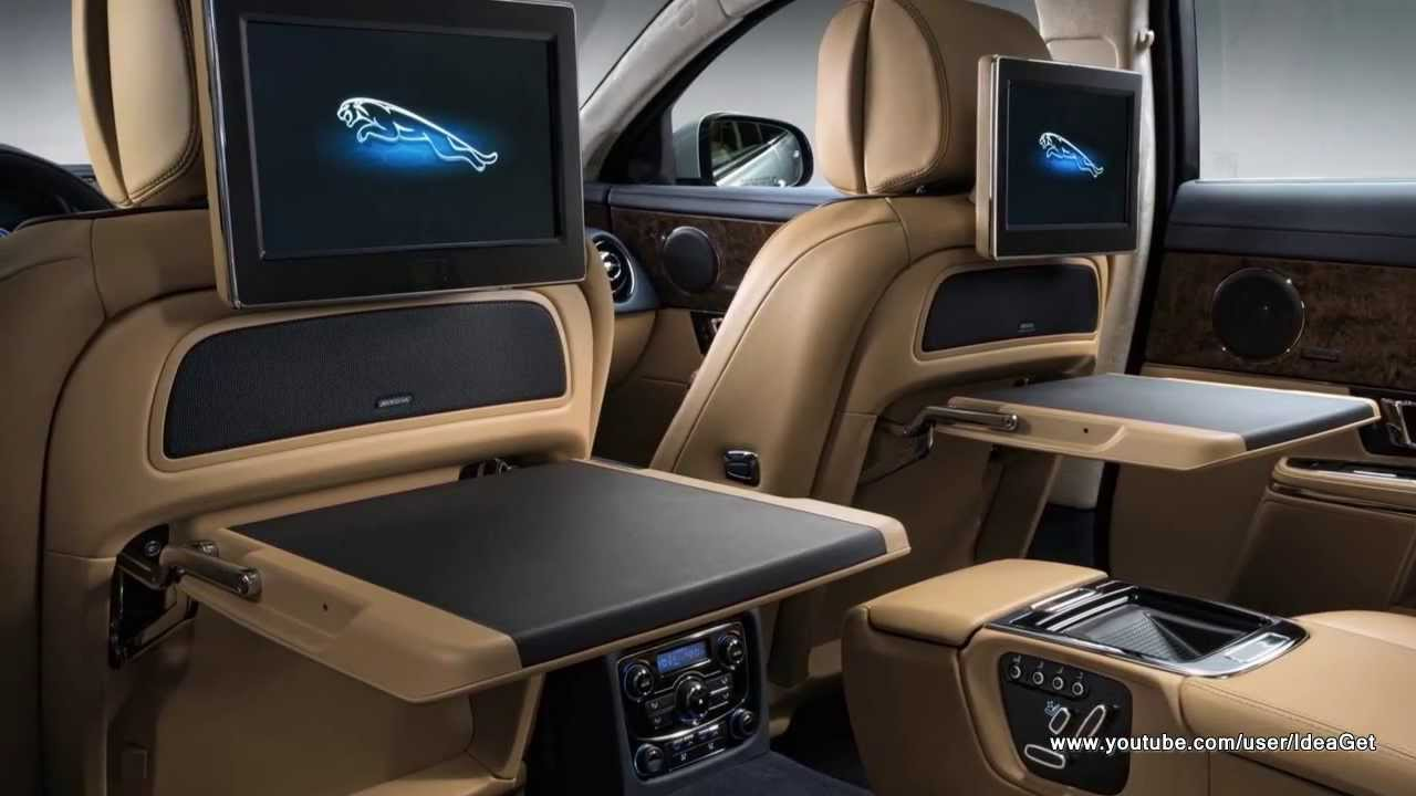 Luxury Interiors 2014 New Jaguar XJ