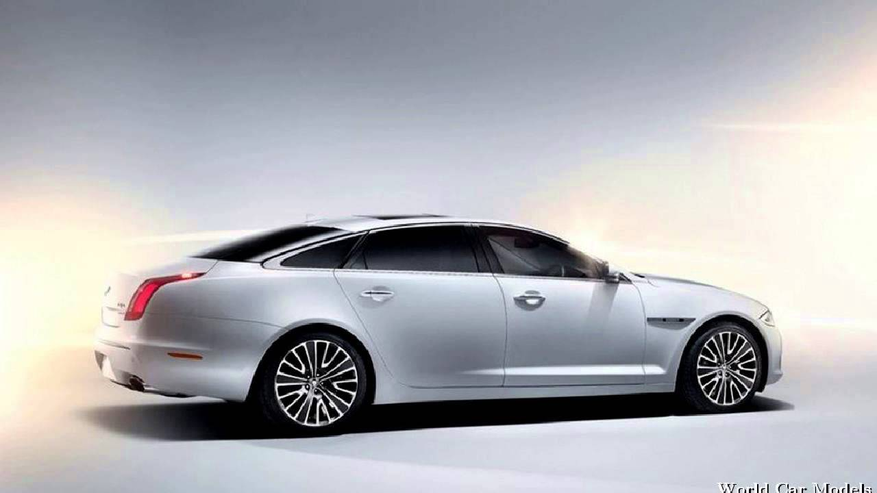 Jaguar Xj White 2014