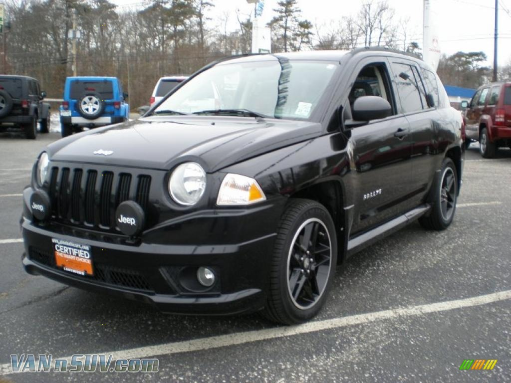 Black / Pastel Slate Gray Jeep Compass Sport 4x4