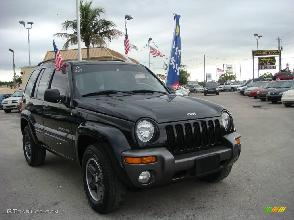 Jeep Liberty 2004 Black