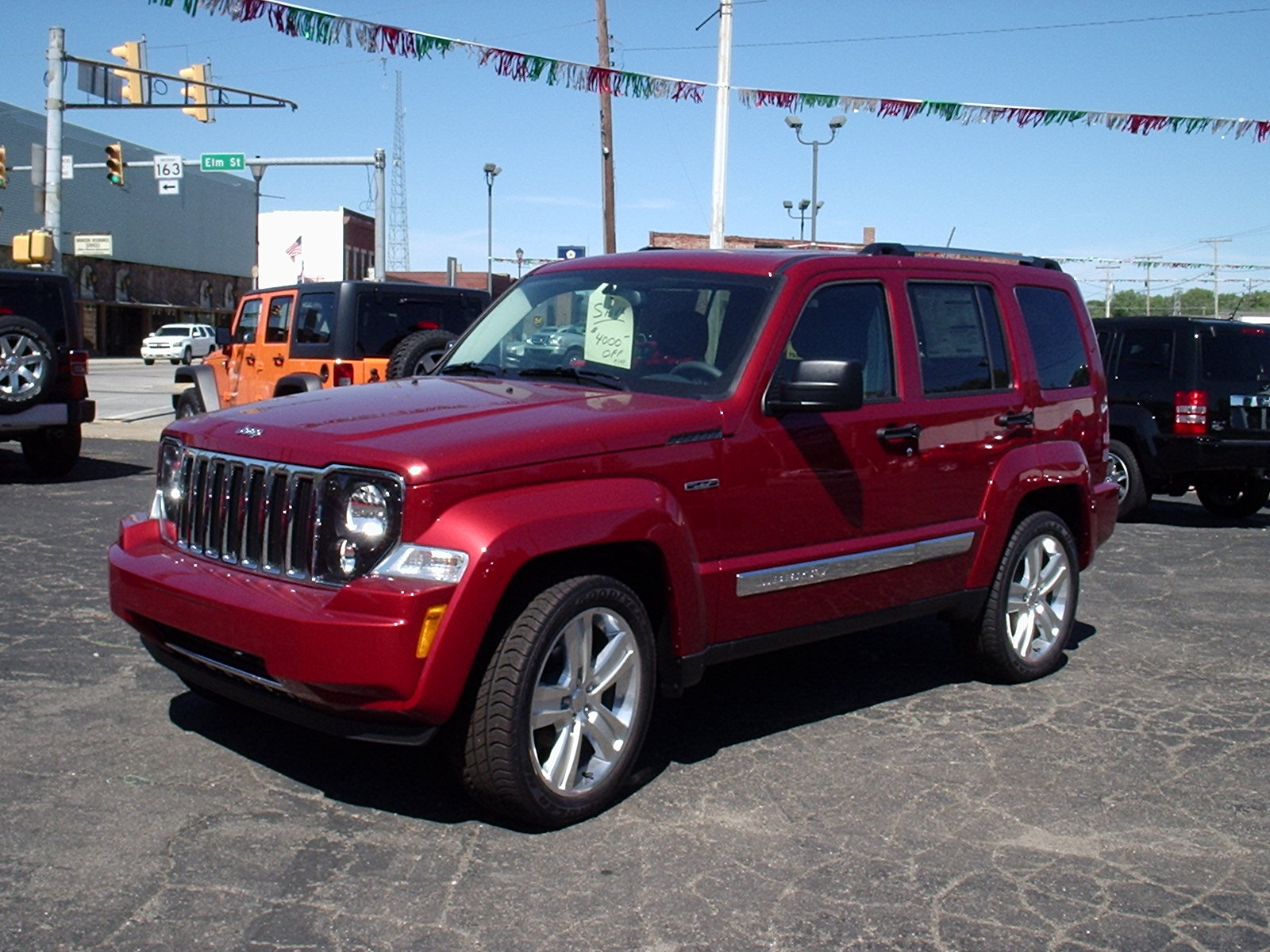 Jeep Liberty 2012 Red