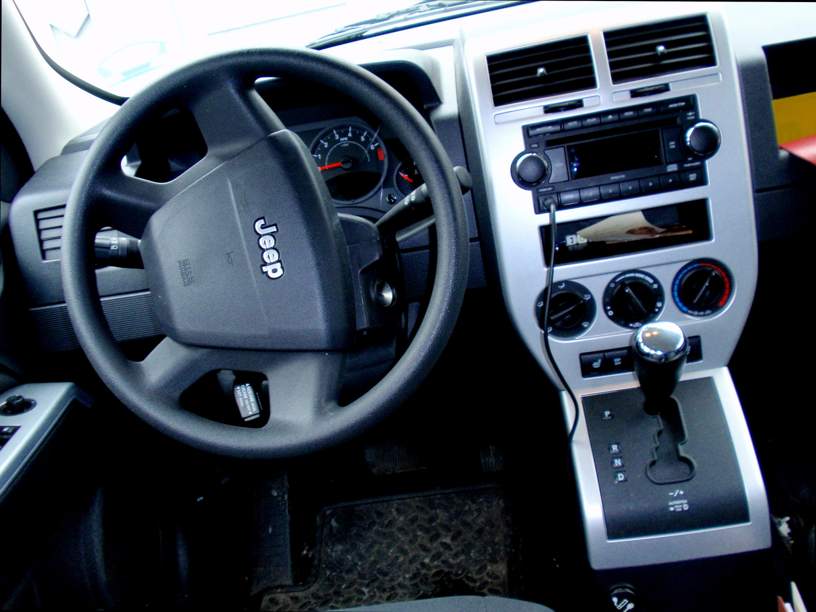 Jeep Patriot 2008 Interior