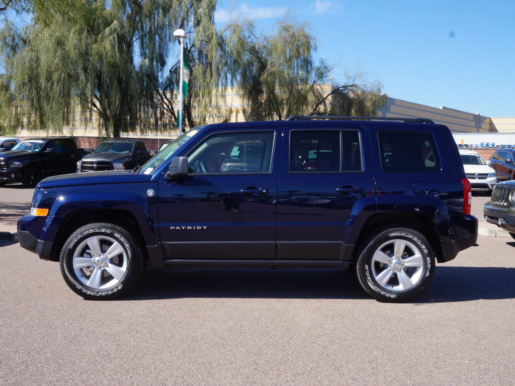 Jeep Patriot 2015 Blue